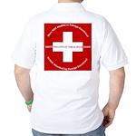 Swiss Cross/Peace Golf Shirt