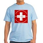 Swiss Cross/Peace Light T-Shirt