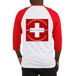 Swiss Cross/Peace Baseball Jersey