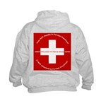 Swiss Cross/Peace Kids Sweatshirt