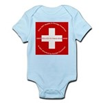 Swiss Cross/Peace Infant Bodysuit