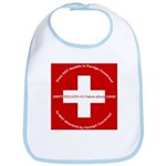 Swiss Cross/Peace Bib