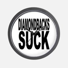 Diamondbacks Suck Wall Clock