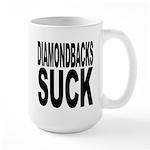 Diamondbacks Suck Large Mug