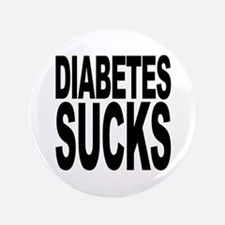 "Diabetes Sucks 3.5"" Button"