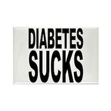 Diabetes Sucks Rectangle Magnet (10 pack)