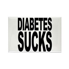 Diabetes Sucks Rectangle Magnet (100 pack)