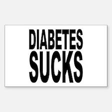 Diabetes Sucks Rectangle Sticker 10 pk)