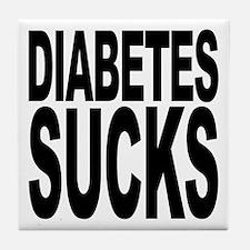 Diabetes Sucks Tile Coaster