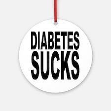 Diabetes Sucks Ornament (Round)