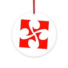 Square Ornament (Round)