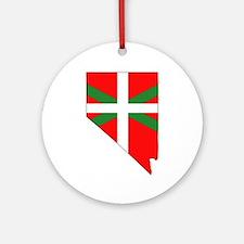 Nevada Basque Ornament (Round)