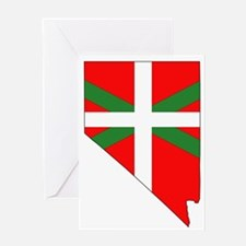 Nevada Basque Greeting Card