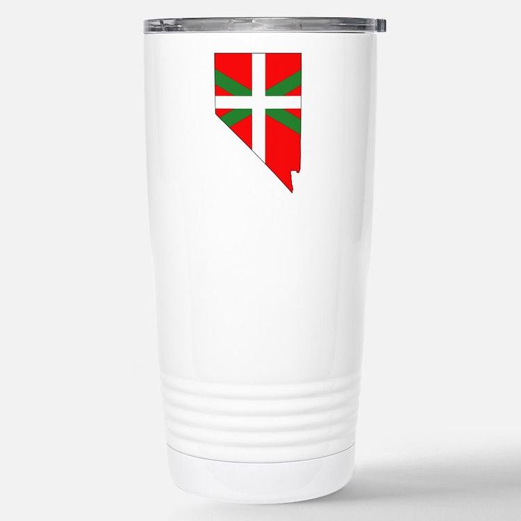 Nevada Basque Stainless Steel Travel Mug