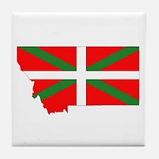 Montana Basque Tile Coaster