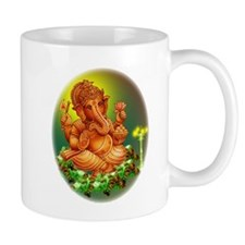 Golden Ganesha Mug