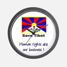 Human Rights are Our Business Wall Clock