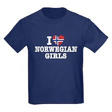 I Love Norwegian Girls T