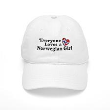 Everyone Loves a Norwegian Girl Baseball Cap