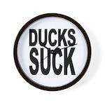 Ducks Suck Wall Clock