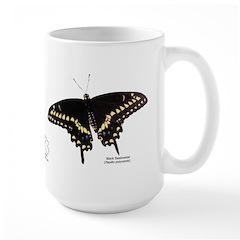 Black Swallowtail Butterfly Mug