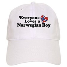Everyone Loves a Norwegian Boy Baseball Cap