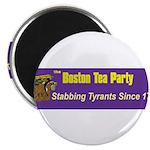 Stabbing Tyrants Since 1773 Magnet