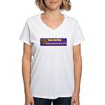 Stabbing Tyrants Since 1773 Women's V-Neck T-Shirt