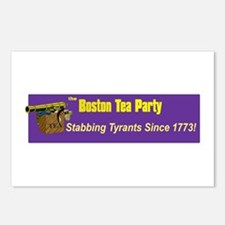Stabbing Tyrants Since 1773 Postcards (Package of