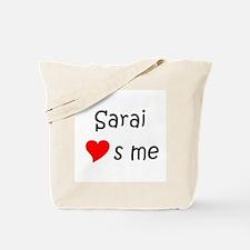 Funny Sarai Tote Bag