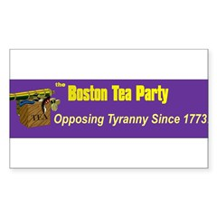 Opposing Tyranny Since 1773 Rectangle Decal