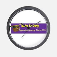 Opposing Tyranny Since 1773 Wall Clock