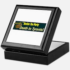 Death to Tyrants Keepsake Box
