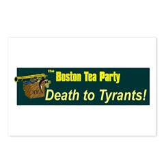 Death to Tyrants Postcards (Package of 8)