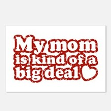 My Mom is Kind of a Big Deal Postcards (Package of