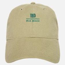 Married To A Greek Princess Baseball Baseball Cap