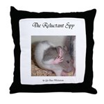 Reluctant Spy Throw Pillow