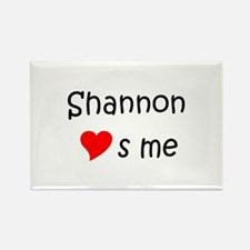 Funny Shannon Rectangle Magnet