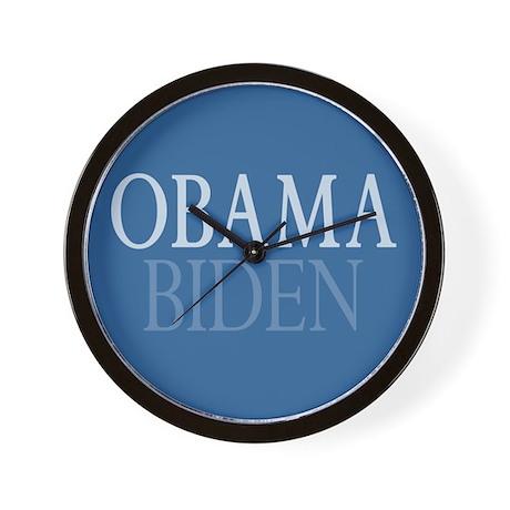 Obama-Biden Wall Clock