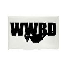 WWBD? Rectangle Magnet