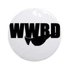 WWBD? Ornament (Round)