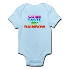 Come Taste My Rainbow Onesie