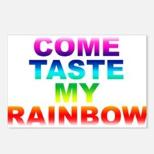Come Taste My Rainbow Postcards (Package of 8)