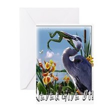 Never Give Up Greeting Cards (Pk of 10)