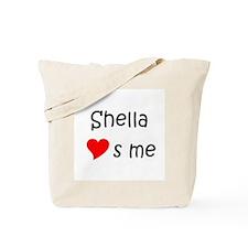 Cute Heart Tote Bag
