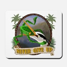 Never Give Up v.2 Mousepad