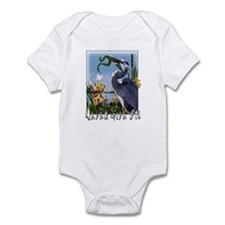 Never Give Up! Infant Bodysuit