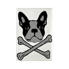 Cute Boston terrier Rectangle Magnet (10 pack)