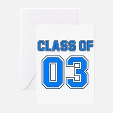 Class of 03 Greeting Cards (Pk of 10)