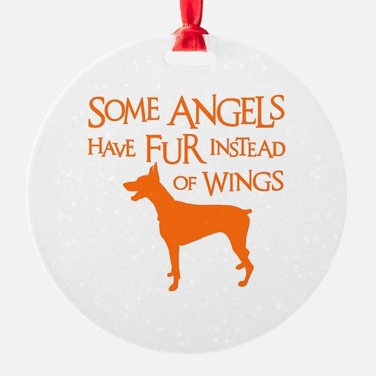 DOBIE ANGEL Ornament